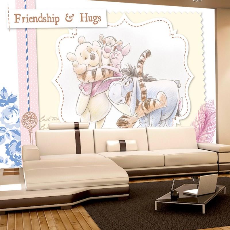 vlies fototapete no 405 disney tapete winnie puuh. Black Bedroom Furniture Sets. Home Design Ideas