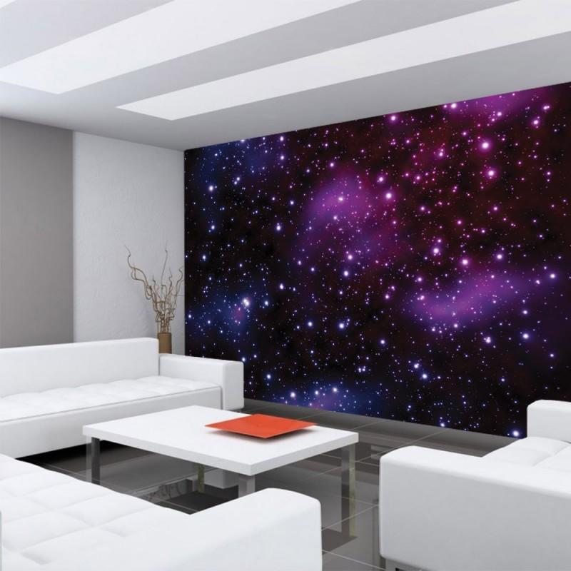 vlies fototapete no 499 sternenhimmel tapete galaxy. Black Bedroom Furniture Sets. Home Design Ideas