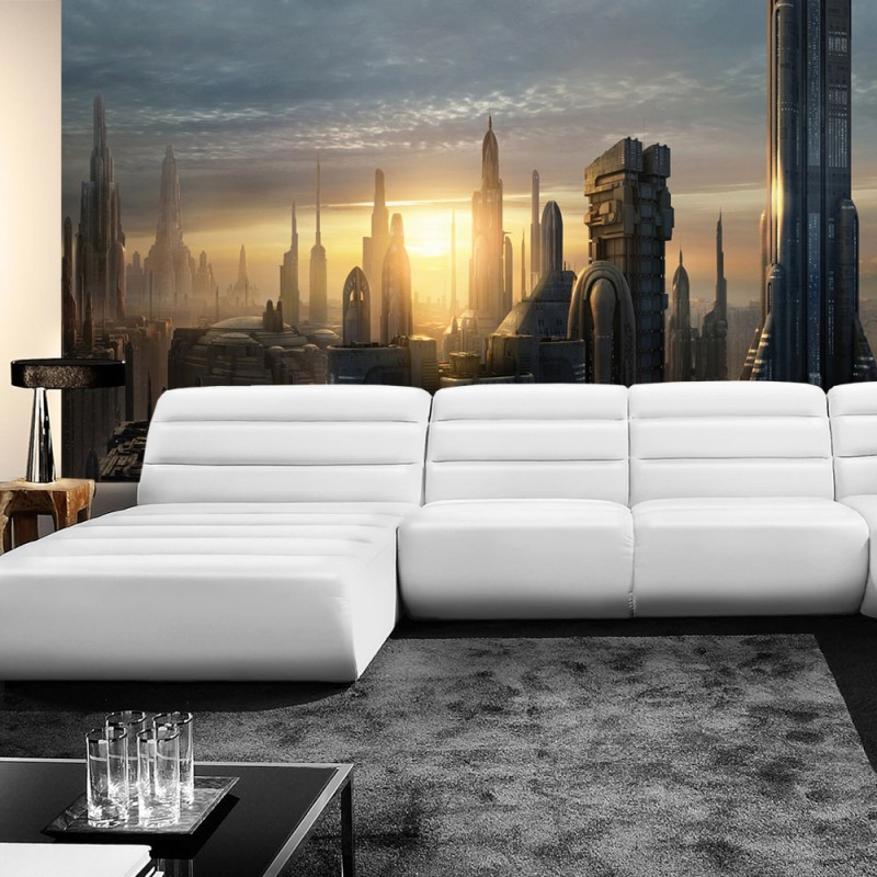 vlies fototapete no 451 kindertapete tapete star wars. Black Bedroom Furniture Sets. Home Design Ideas