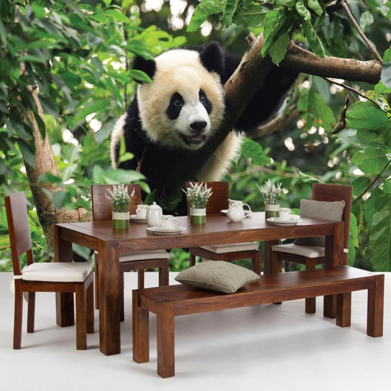 Vlies fototapete no 986 tiere tapete tier panda b r for Kinderzimmer zoo