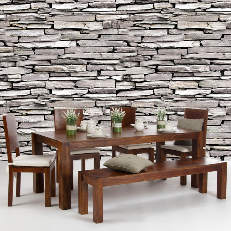 vlies fototapete no 424 steinwand tapete steine. Black Bedroom Furniture Sets. Home Design Ideas