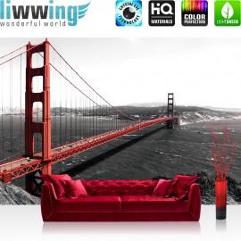 PREMIUM Fototapete - no. 429 | Golden Gate Bridge Wasser