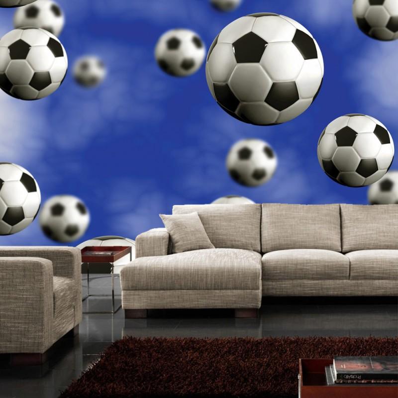 vlies fototapete no 529 fu ball tapete fu b lle. Black Bedroom Furniture Sets. Home Design Ideas