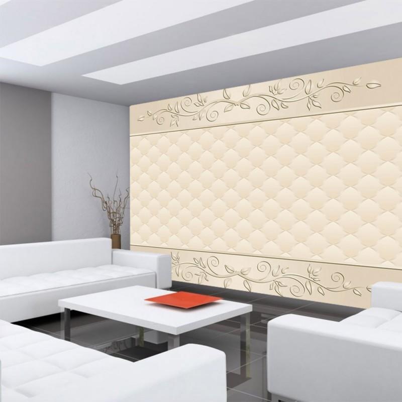 vlies fototapete no 548 ornamente tapete abstrakt schn rkel muster rechteck beige. Black Bedroom Furniture Sets. Home Design Ideas