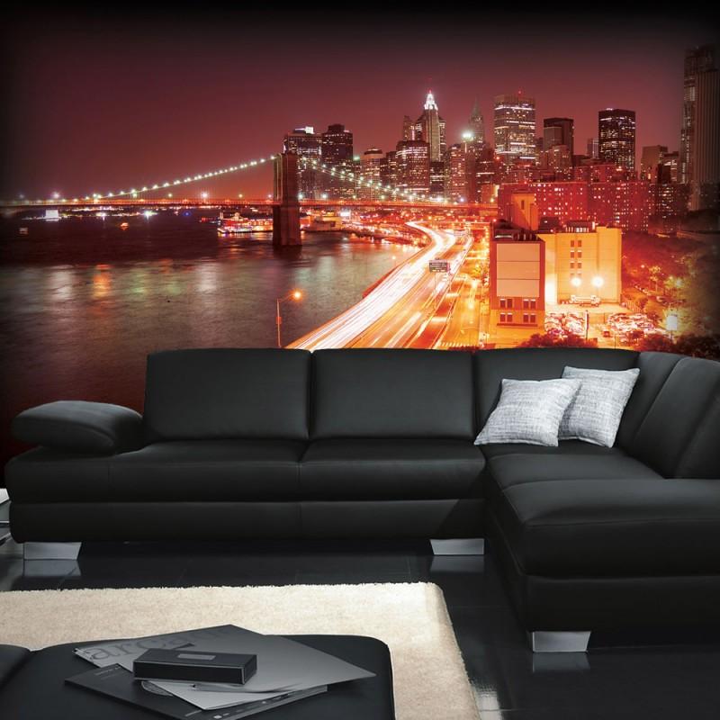 vlies fototapete no 570 skylines tapete skyline. Black Bedroom Furniture Sets. Home Design Ideas