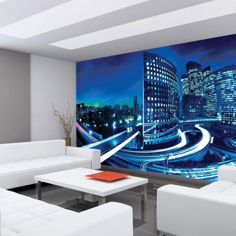 vlies fototapete no 596 skylines tapete h user. Black Bedroom Furniture Sets. Home Design Ideas