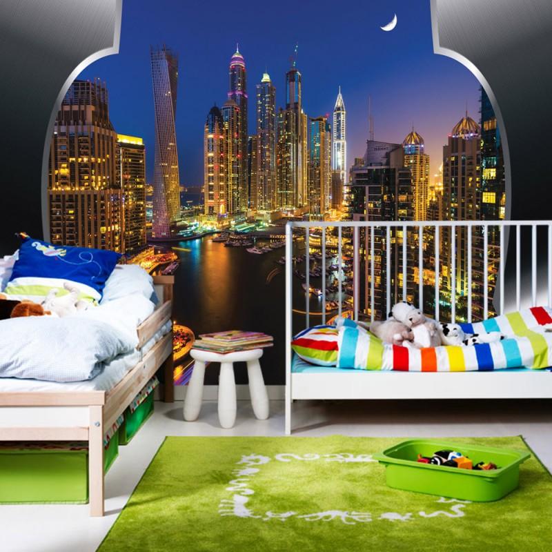 vlies fototapete no 628 skylines tapete skyline. Black Bedroom Furniture Sets. Home Design Ideas