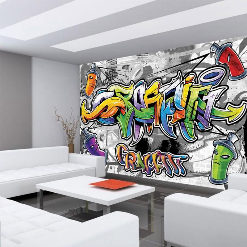 vlies fototapete no 675 graffiti tapete kindertapete. Black Bedroom Furniture Sets. Home Design Ideas