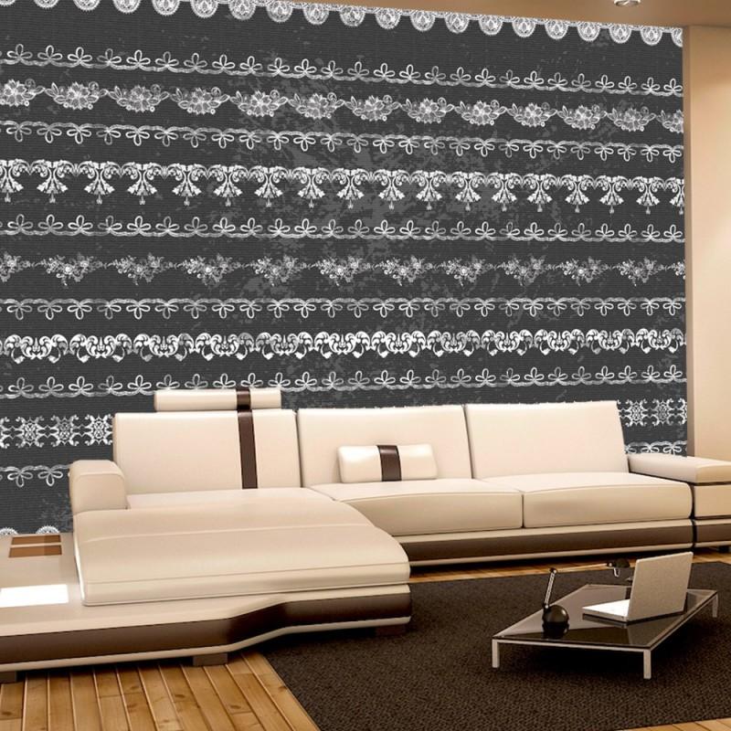 vlies fototapete no 747 ornamente tapete spitze. Black Bedroom Furniture Sets. Home Design Ideas
