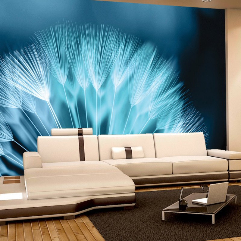 vlies fototapete no 786 blumen tapete pusteblume. Black Bedroom Furniture Sets. Home Design Ideas
