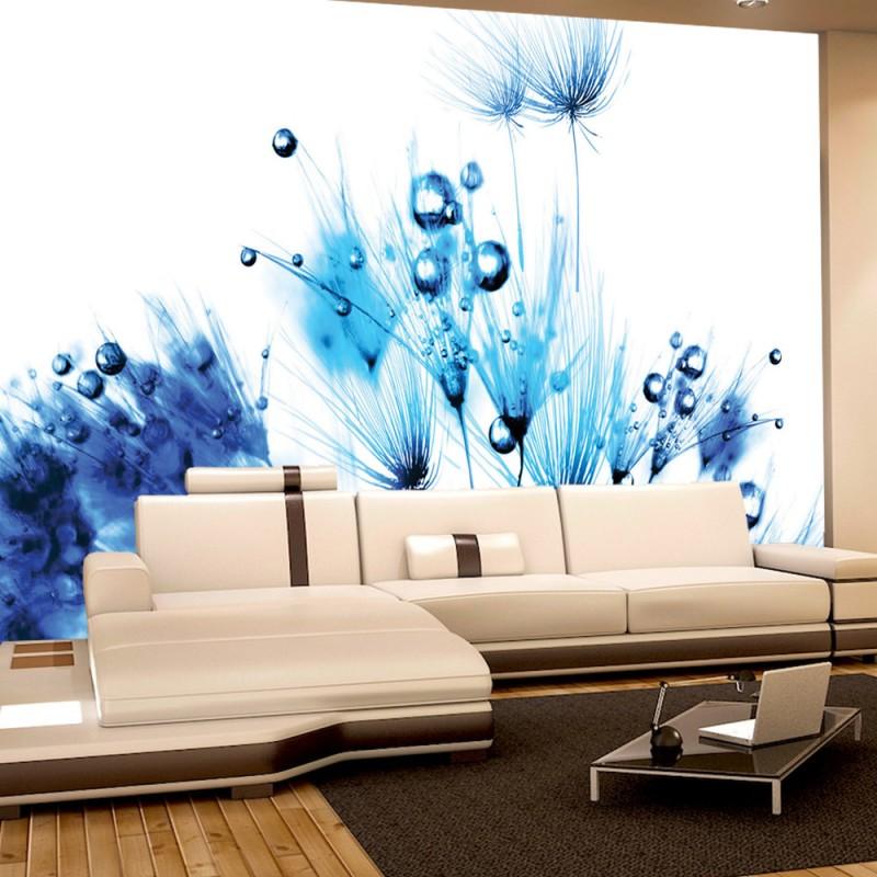 vlies fototapete no 789 blumen tapete pusteblume. Black Bedroom Furniture Sets. Home Design Ideas
