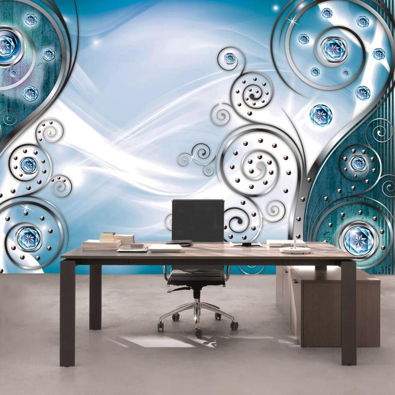 hintergrundbilder abstrakt blau streifen - photo #10