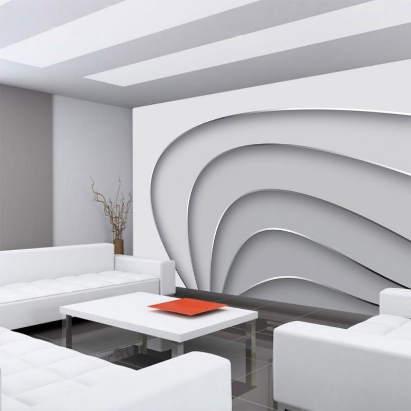 vlies fototapete no 807 3d tapete abstrakt streifen. Black Bedroom Furniture Sets. Home Design Ideas
