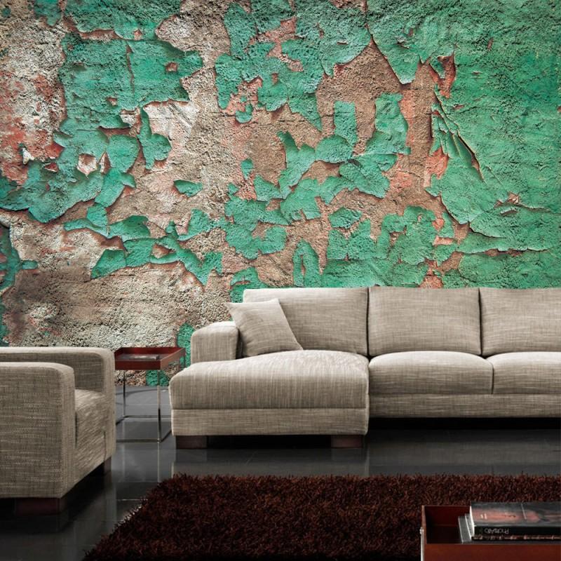 827 steinwand tapete steinmauer steinwand steinoptik farbe lack reste grn - Steinwand Farbe