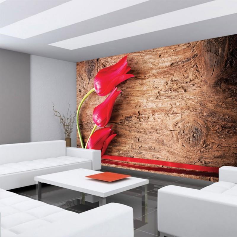 vlies fototapete no 830 holz tapete holzwand. Black Bedroom Furniture Sets. Home Design Ideas