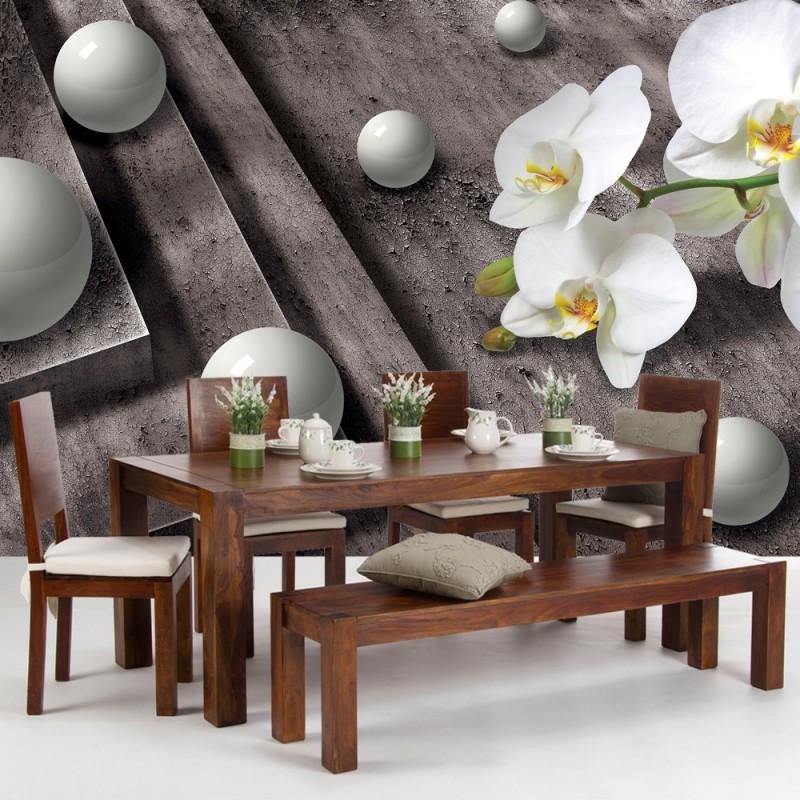 vlies fototapete no 875 3d tapete abstrakt treppe. Black Bedroom Furniture Sets. Home Design Ideas