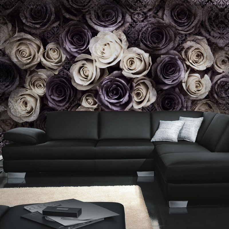 vlies fototapete no 910 blumen tapete blumen bl ten. Black Bedroom Furniture Sets. Home Design Ideas