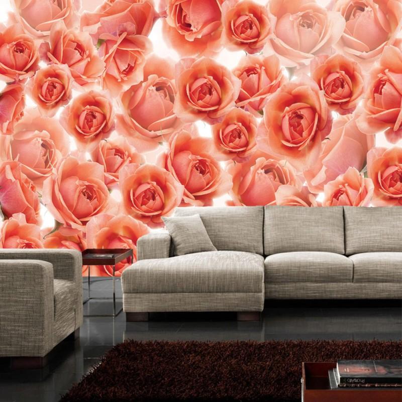 Vlies fototapete no 959 blumen tapete rosen blumen for Tapete rosen