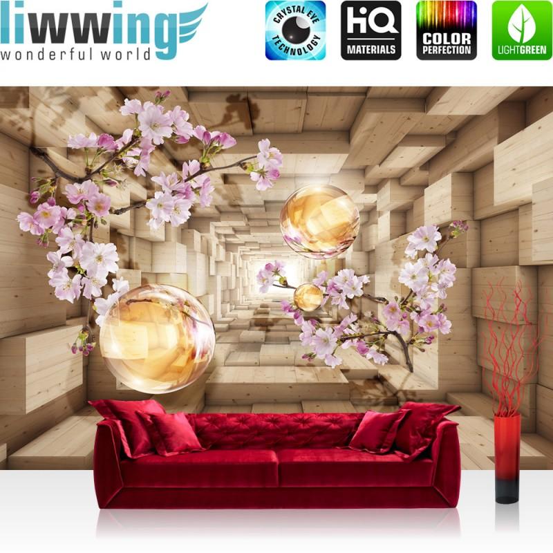 vlies fototapete no 966 3d tapete abstrakt. Black Bedroom Furniture Sets. Home Design Ideas