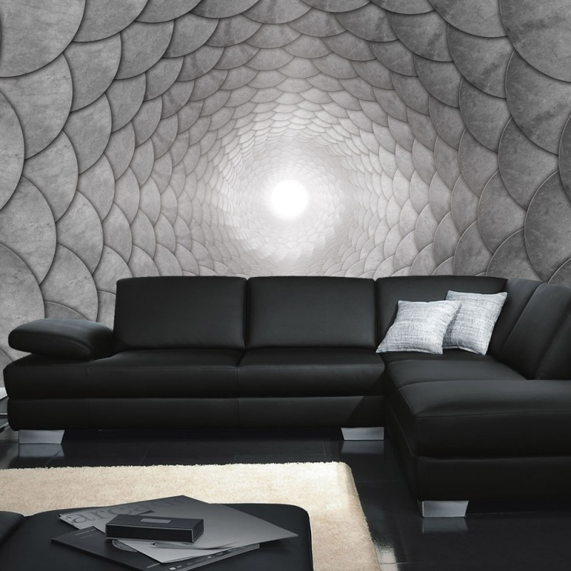 3d fototapete tunnel romantisch m bel und heimat design for Tapete romantisch