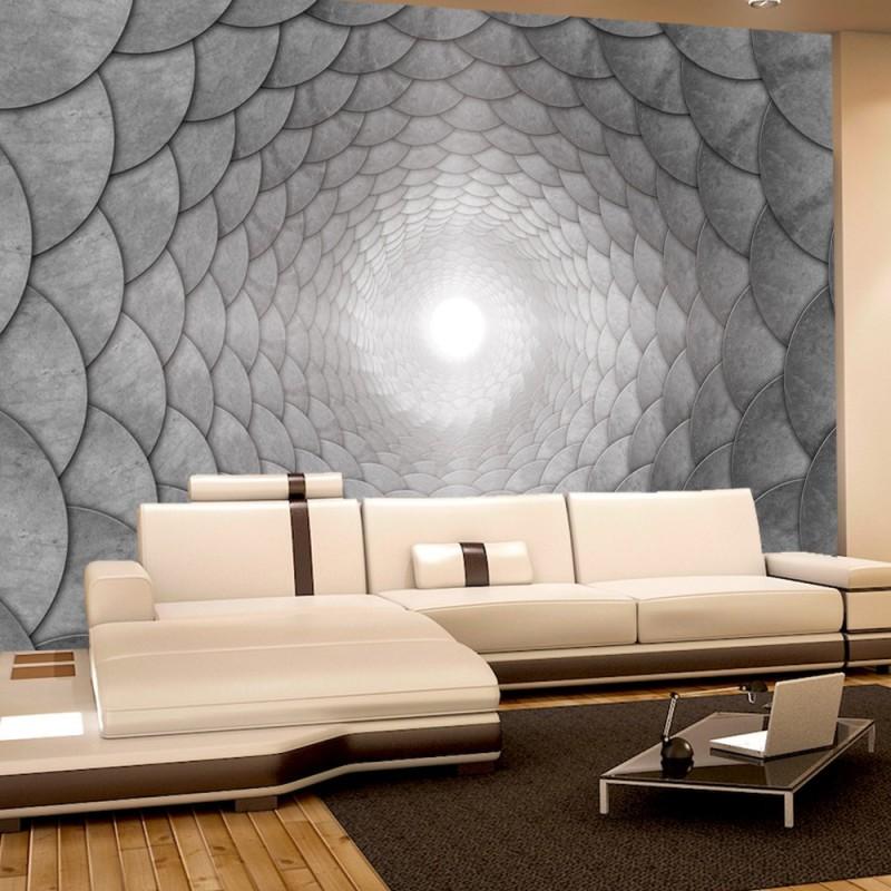vlies fototapete no 975 3d tapete abstrakt tunnel. Black Bedroom Furniture Sets. Home Design Ideas