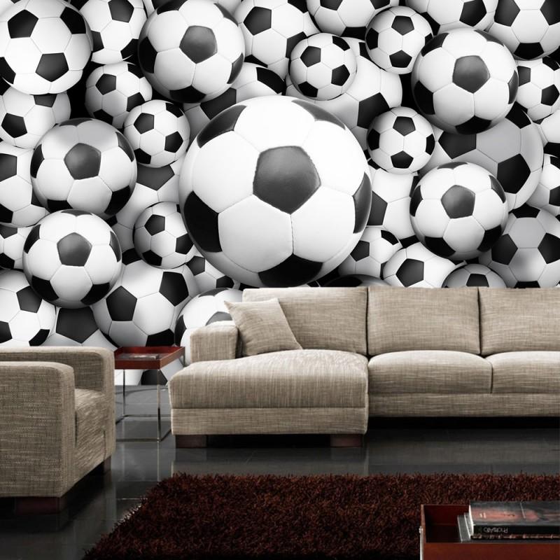 vlies fototapete no 977 fu ball tapete fussb lle. Black Bedroom Furniture Sets. Home Design Ideas
