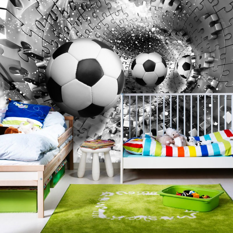 fussball fototapete my blog. Black Bedroom Furniture Sets. Home Design Ideas