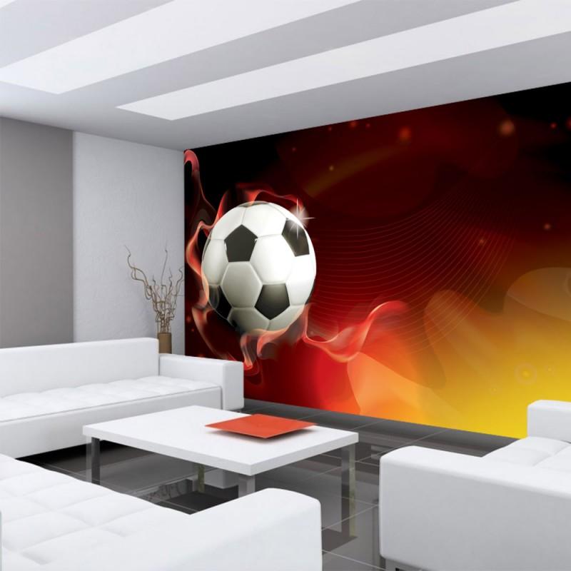 21 Fußball Tapete Kinderzimmer Bilder. Fototapete No 431 Fussball ...