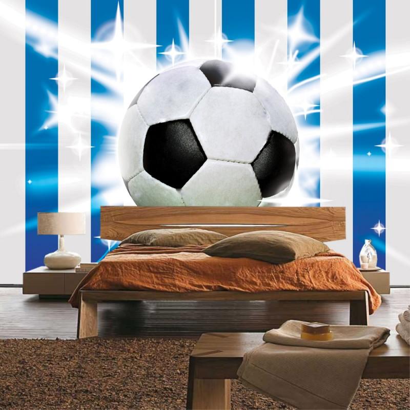 vlies fototapete no 1037 fu ball tapete fussball ball. Black Bedroom Furniture Sets. Home Design Ideas