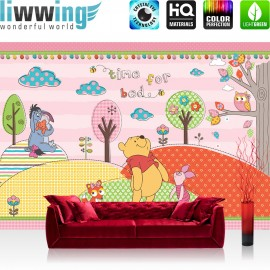 vlies fototapete no 1121 disney tapete winnie puuh. Black Bedroom Furniture Sets. Home Design Ideas