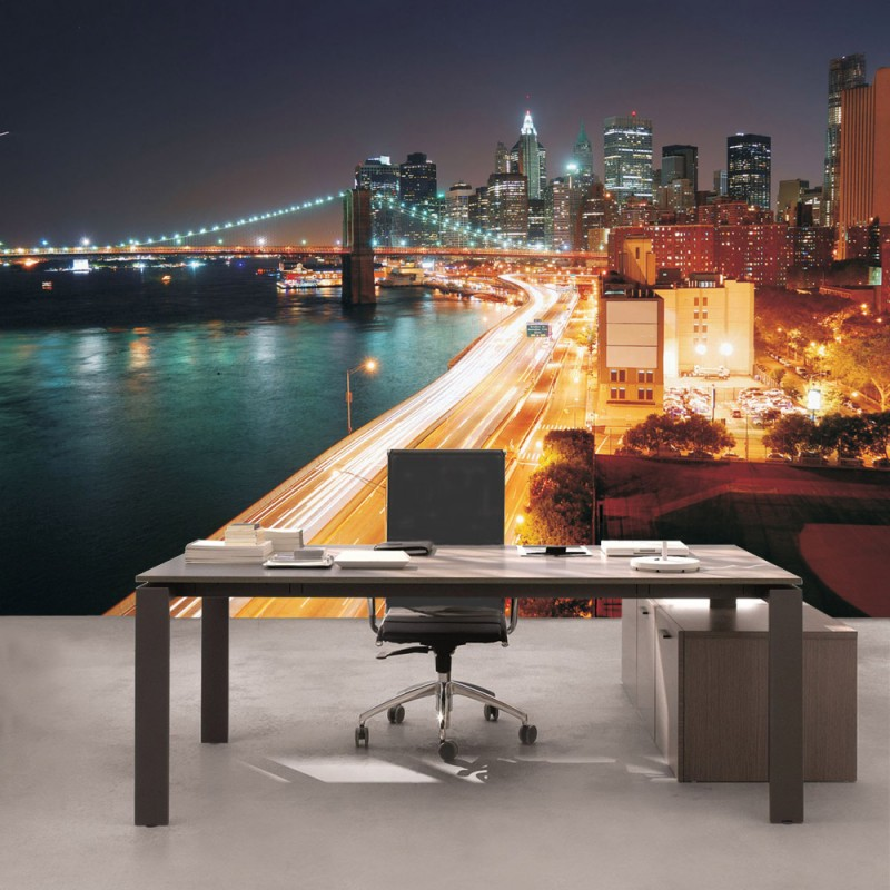 vlies fototapete no 1111 new york tapete skyline. Black Bedroom Furniture Sets. Home Design Ideas
