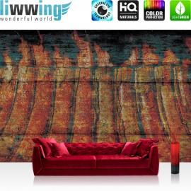 "Vlies Fototapete ""no. 1254"" | Gemälde Tapete Abstrakt Kunst Gemälde bunt | liwwing (R)"