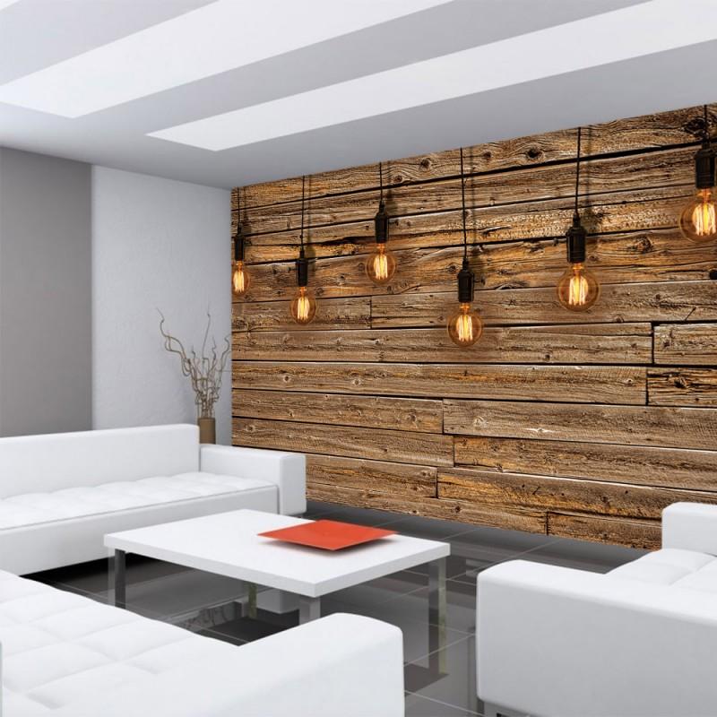 vlies fototapete no 1281 vliestapete liwwing r holz tapetewand holz wand leisten bretter. Black Bedroom Furniture Sets. Home Design Ideas