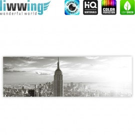 "liwwing (R) Marken Leinwandbild ""Manhattan Skyline"" 
