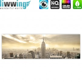 "liwwing (R) Marken Leinwandbild ""Manhattan Skyline View"" 