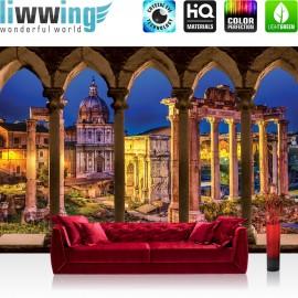 "Vlies Fototapete ""no. 1534"" | Architektur Tapete Bogen Kathedrale Lightning beige | liwwing (R)"