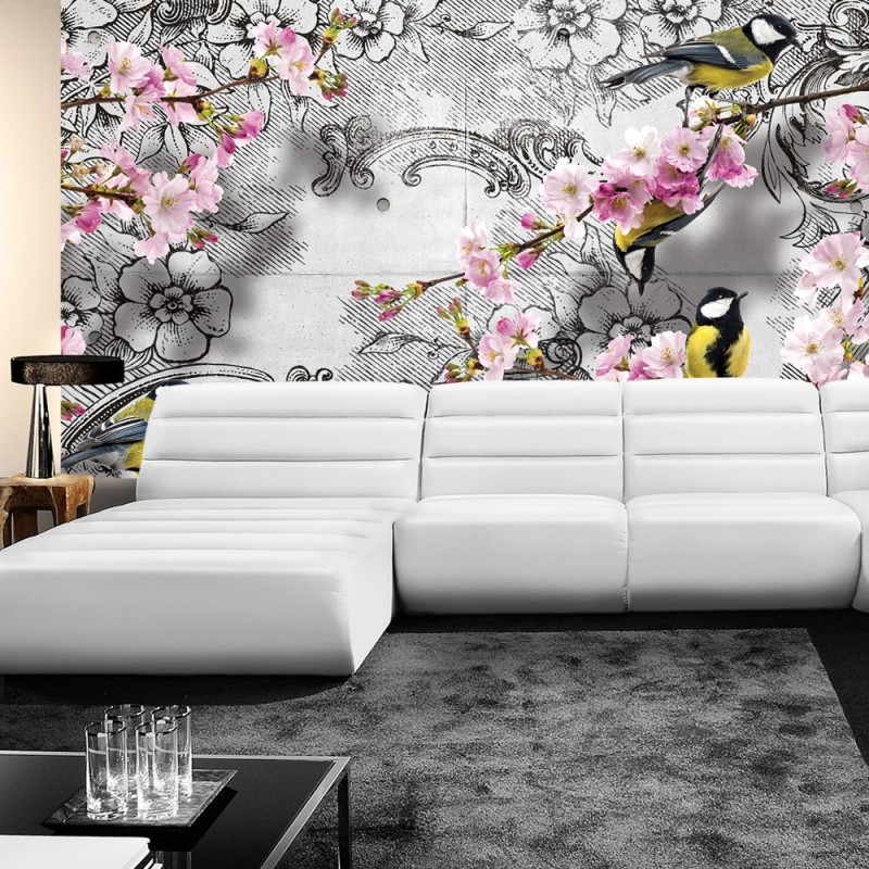 vlies fototapete no 1538 vliestapete liwwing r blumen. Black Bedroom Furniture Sets. Home Design Ideas