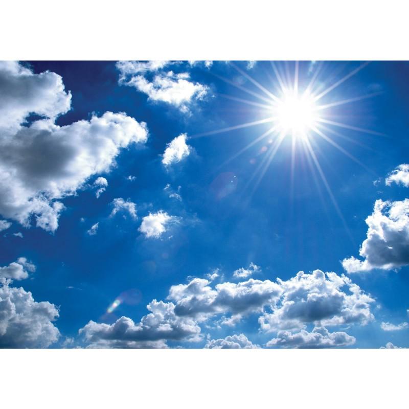Vlies Fototapete no. 1620 | Vliestapete liwwing (R) Himmel Tapete Himmel Sonne Wolken Lens Flare ...