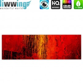 "liwwing (R) Marken Leinwandbild ""Paint it Red"" 
