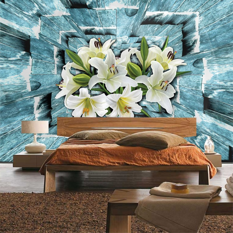 vlies fototapete no 1676 vliestapete liwwing r blumen. Black Bedroom Furniture Sets. Home Design Ideas