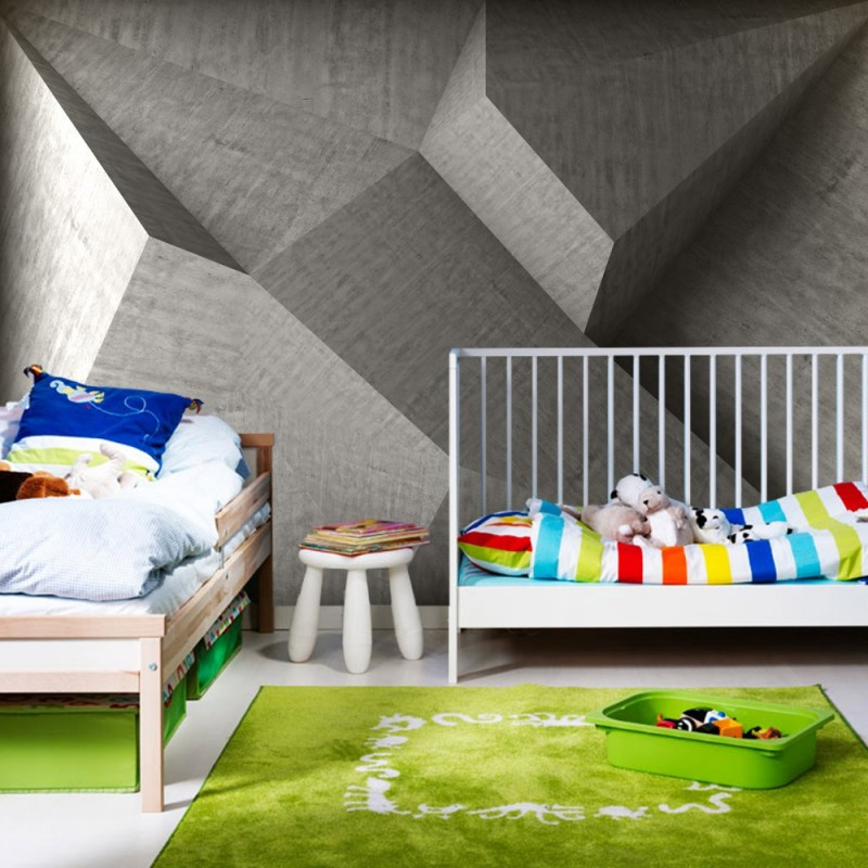 steinwand tapete 3d die neuesten innenarchitekturideen. Black Bedroom Furniture Sets. Home Design Ideas