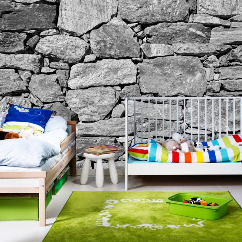 Steinwand Tapete 3D ~ Beste Bildideen Zu Hause Design