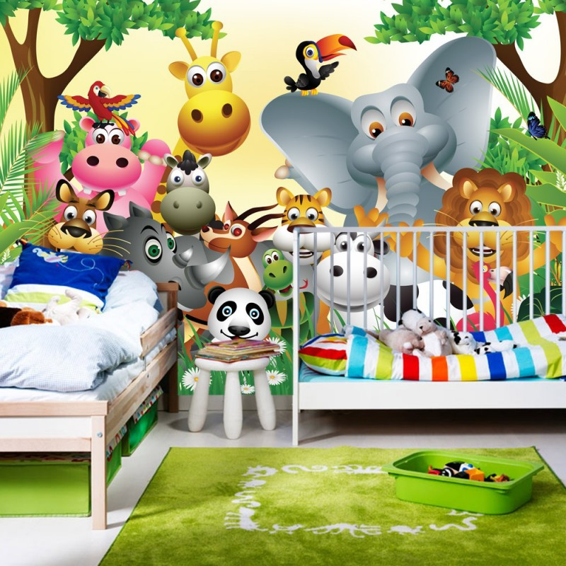 kinderzimmer deko zoo. Black Bedroom Furniture Sets. Home Design Ideas