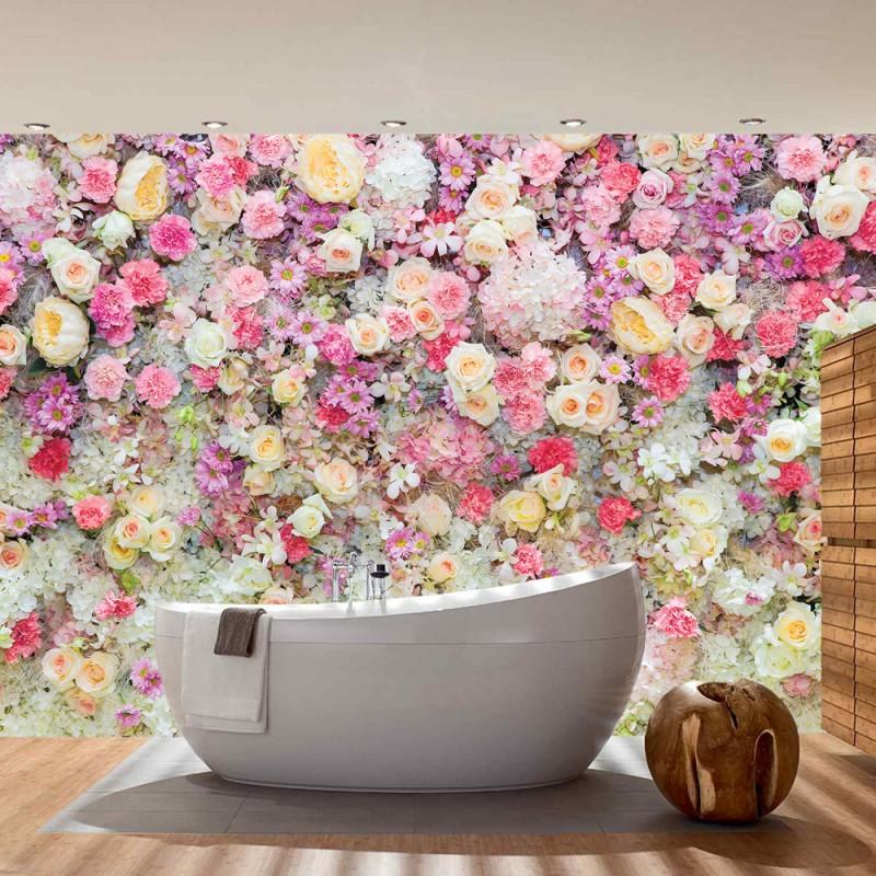 vlies fototapete no 1759 vliestapete liwwing r blumen tapete natur pflanzen bunt. Black Bedroom Furniture Sets. Home Design Ideas