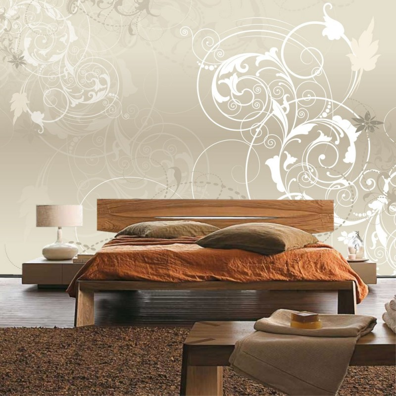 tapete schlafzimmer beige ansprechend auf moderne deko. Black Bedroom Furniture Sets. Home Design Ideas