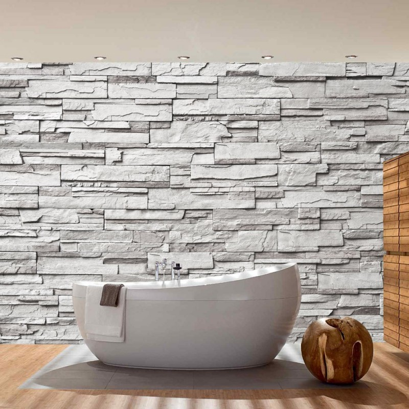 19 | Noble Grey Stone Wall | Steinwand Steine Wand Wall ...