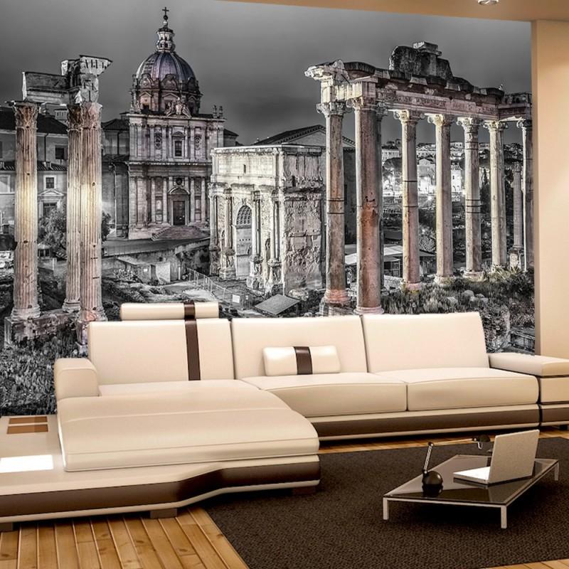 vlies fototapete no 1841 vliestapete liwwing r rom tapete stadt s ulen architektur schwarz. Black Bedroom Furniture Sets. Home Design Ideas