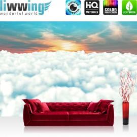 "Vlies Fototapete ""no. 1862"" | Sonnenaufgang Tapete Wolken Himmel Sonnenaufgang blau | liwwing (R)"