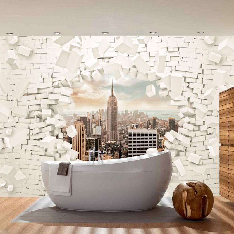 tapete new york fototapete new york city tapete xxl. Black Bedroom Furniture Sets. Home Design Ideas