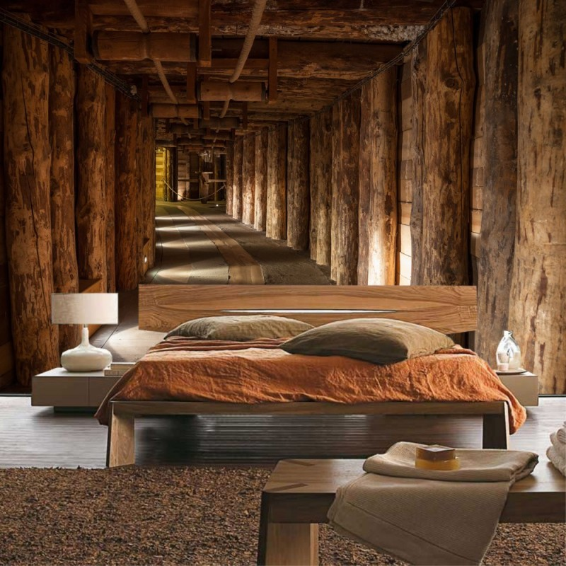 vlies fototapete salt mine berge tapete salzbergwerk. Black Bedroom Furniture Sets. Home Design Ideas
